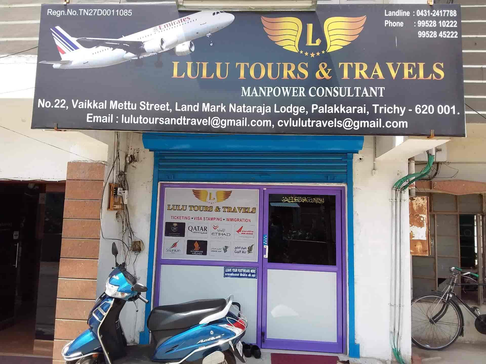 LULU TOURS & TRAVELS, Palakarai - Overseas Placement