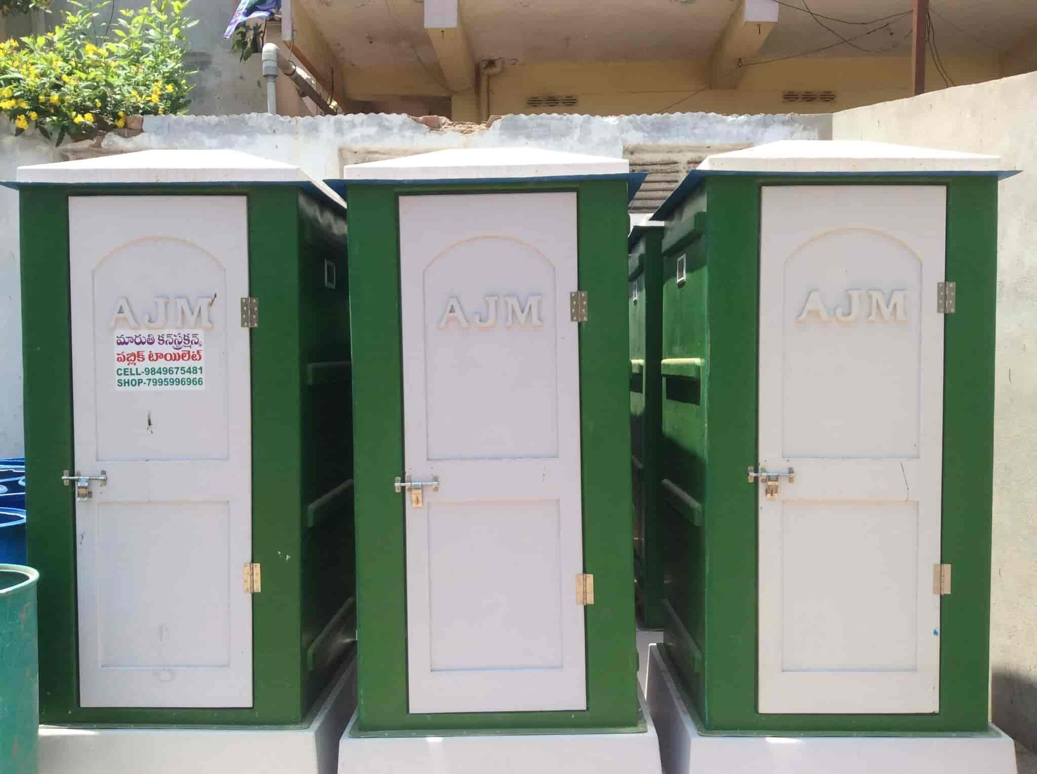 Maruthi Mobile Toilets Suppliers, Yanamalakuduru - Mobile Toilets On ...