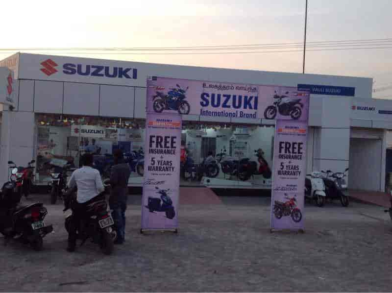 Valli Suzuki, Villupuram Ho - Motorcycle Dealers-Honda in