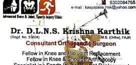 Top 100 Orthopedic Doctors in Visakhapatnam - Best Bone