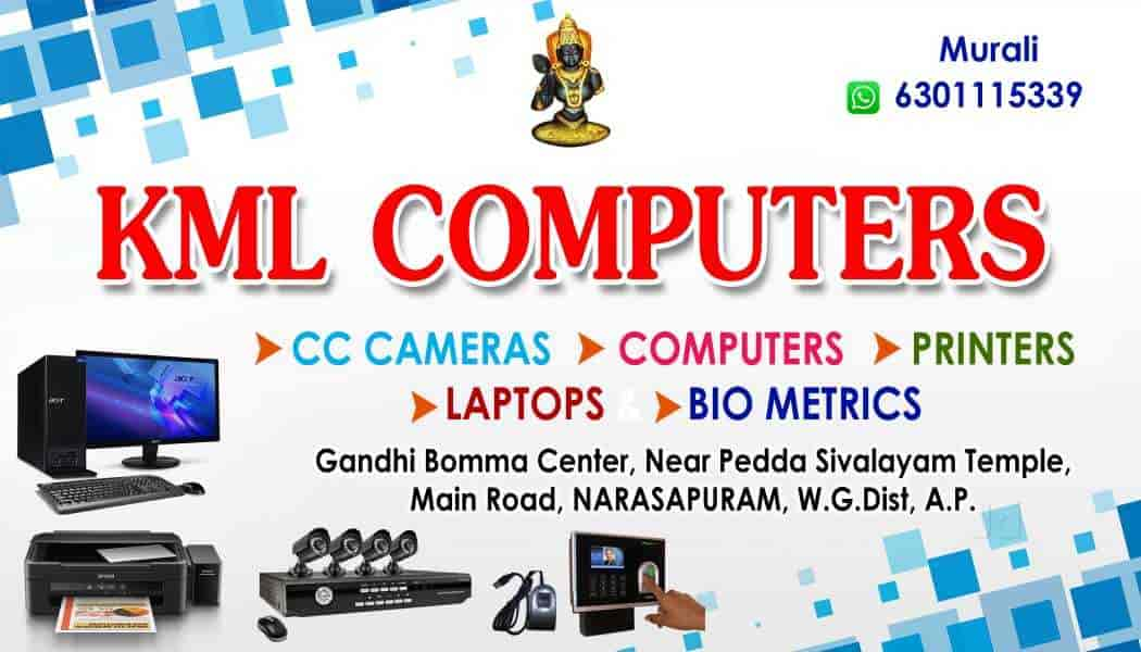 KML COMPUTERS, Narsapur - CCTV Dealers in West Godavari