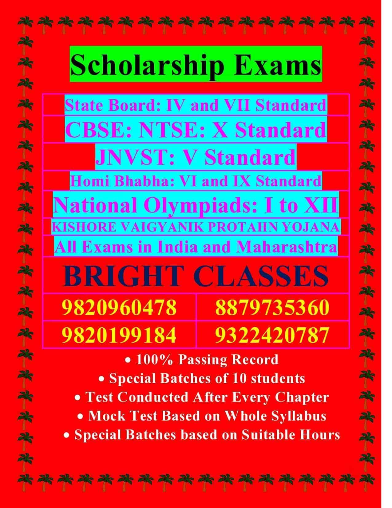 Bright Classes, Mumbai Central - Tutorials in Mumbai - Justdial