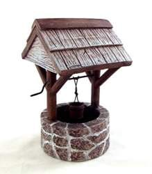 Aztec-Imports-2C-Inc-Dollhouse-Miniature-1-12-Scale-Small-Fieldstone-Wishing-Well-Ym0808