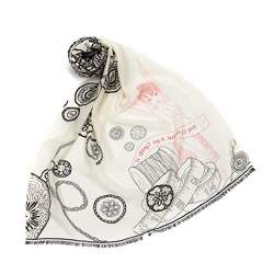 Tenchif Baby Girls Kids Soft Knitted Flower Hat Headband Cap