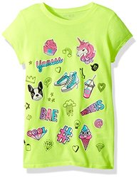 The Childrens Place Girls Big Graphic Tops