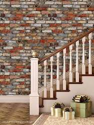 Buy Ppd Hd Quality Brick Wallpaper For Living Room Bedroom
