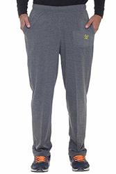 Gray Granite Men/'s FILA SPORT Alpha Fleece Performance Sweat Pants L