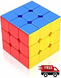 V.K Wind 3X3X3 Candy Pink stickerless Cylinder 3x3x3 Maigc cube