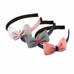 Type 8 Sanwood Baby Girl Sequined Bow Headband Bowknot Hairband