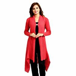 Kriti Women Stole Viscose self Print Woolen Soft Winter Shawl Stole Mustard