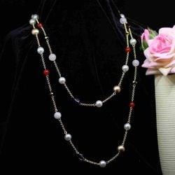 MYEDO Fashion Crystal Heart Pendant Necklace Plush Necklace Choker Necklace Jewelry