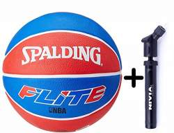 TMG Deluxe Floating Pool Basketball Game Set Net Ball and Air Pump Includes Hoop