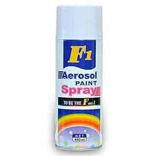 Buy F1 F1 Aerosol Paint Spray White For Car, Features, Price
