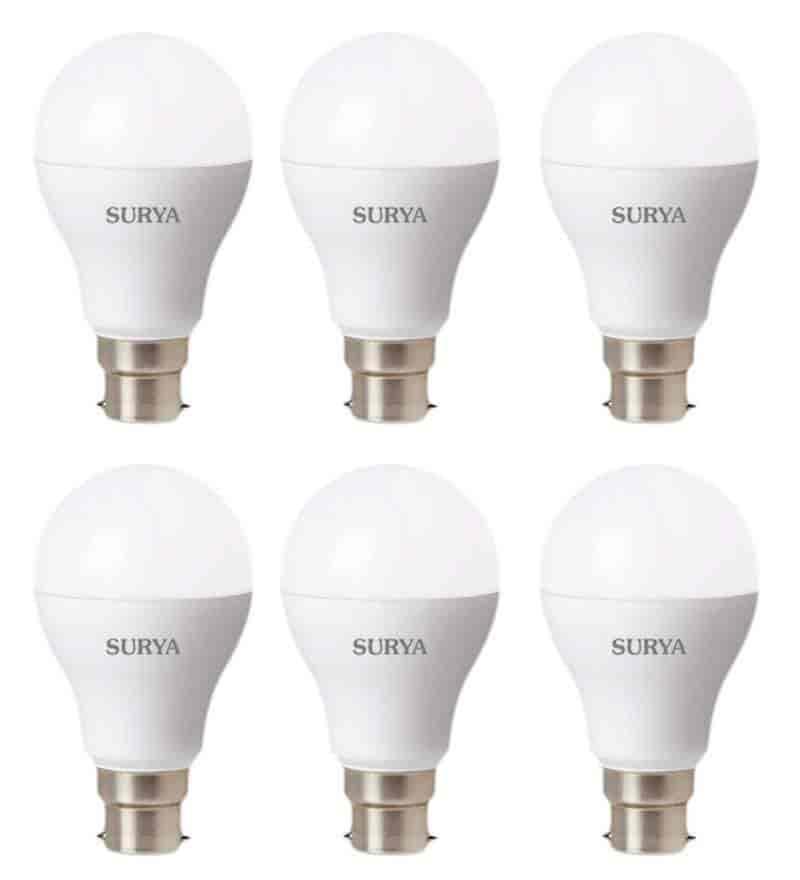 Surya 14 Watt Led Bulb Pack Of 6