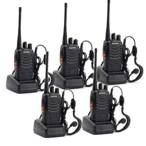 5-Pack-BaoFeng-BF-888S-Long-Range-UHF-400-470-MHz-5W-CTCSS-DCS-Portable-Handheld-2-way-Ham-Radio-with-Original-Earpiece-5-pcs-Baofeng-Programming-Cabl
