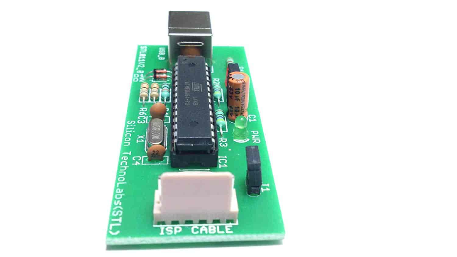 Buy Silicon Technolabs Atmel 8051 Avr Usb Isp Programmer Support For Microcontrollers At89s51at89s52at89sxxatmel