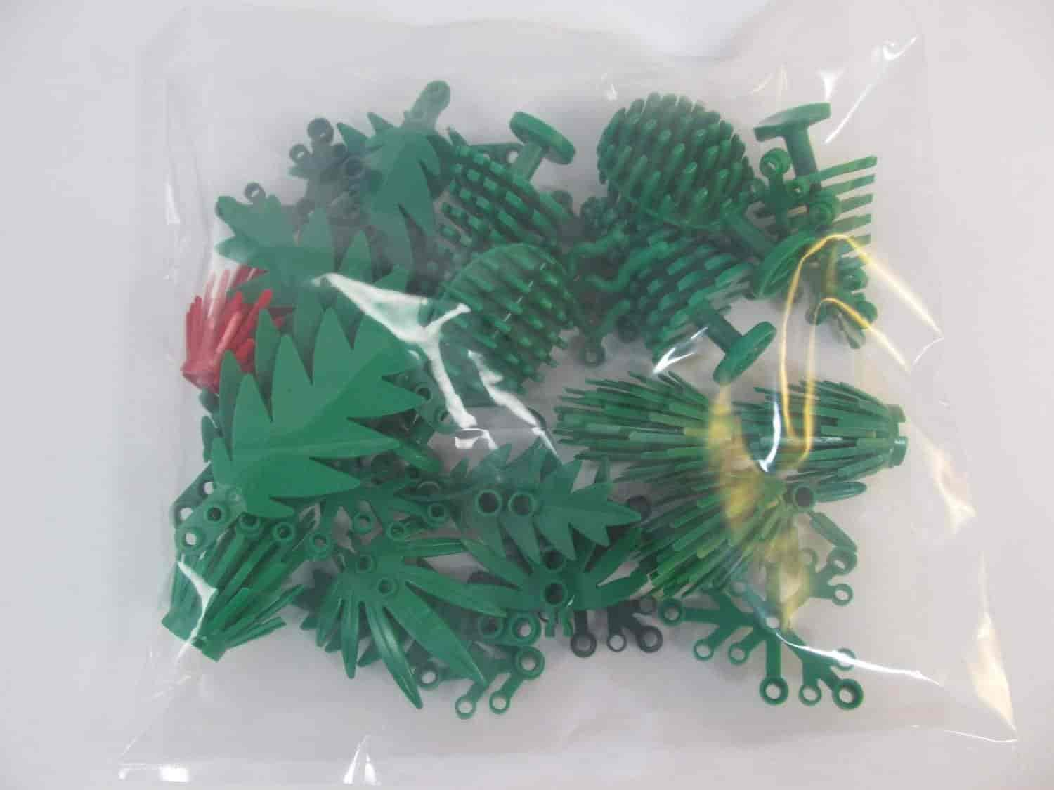 Fish aquarium just dial -  X25 Lego Greenery Plant Pieces