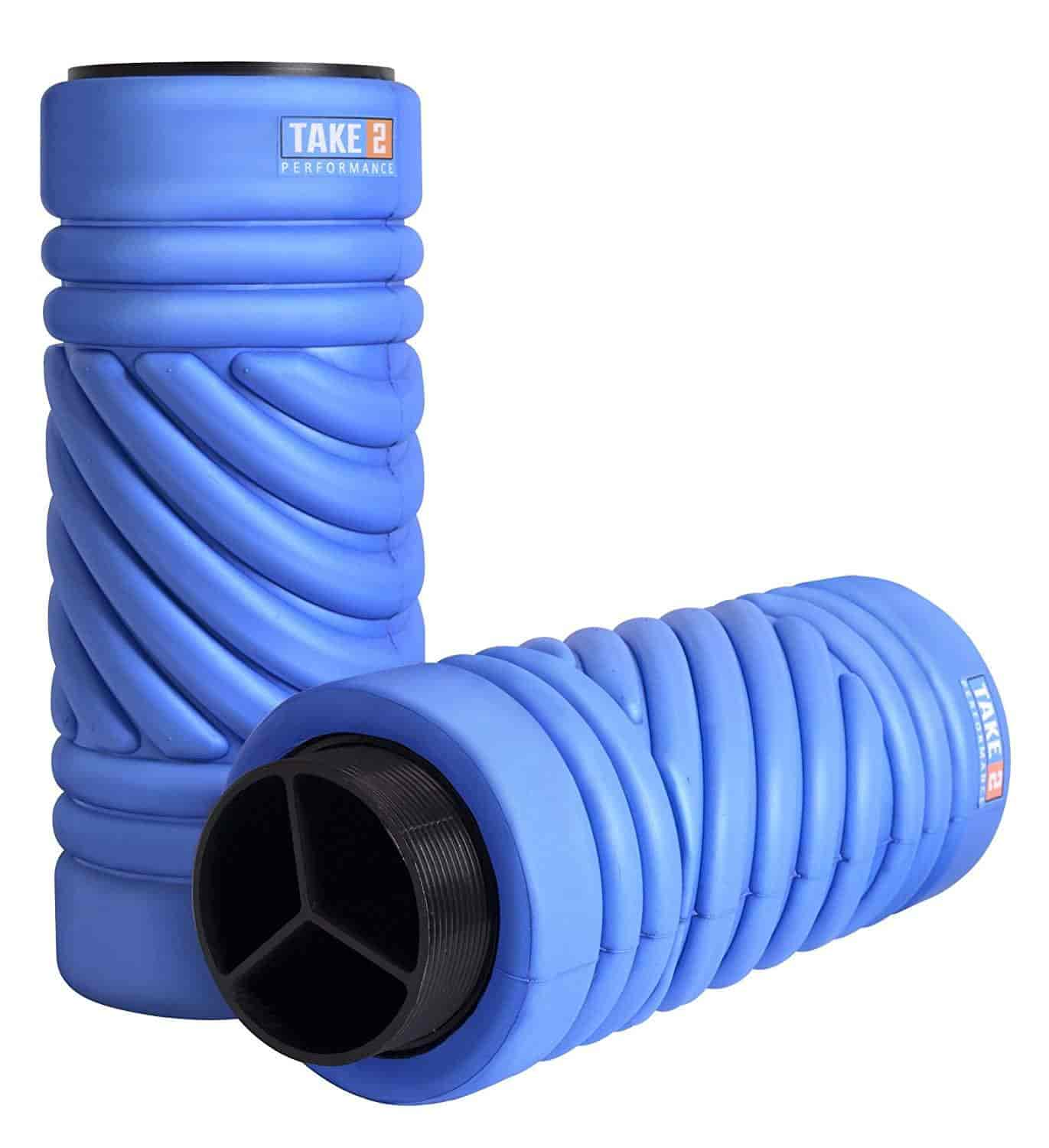 Buy foam roll physical therapy - Adjustable Foam Roller For Muscle Massage Exercise Physical Therapy Best 2 In 1