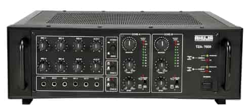Ahuja-Two-Zone-PA-Amplifier-TZA-7000