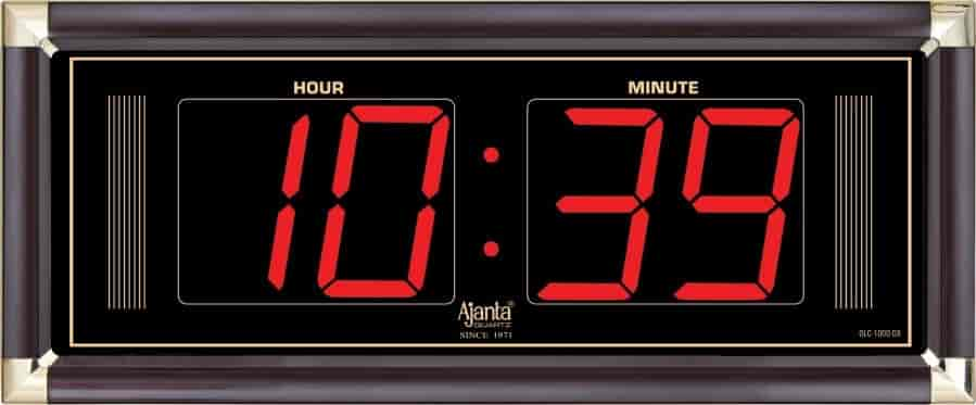 Buy Ajanta Digital LED Wall Clock OLC1000DX Features Price