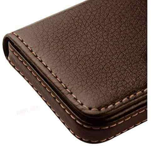 Buy alexvyan genuine accessory with 1 year warranty stylish pocket alexvyan genuine accessory with 1 year warranty stylish pocket sized stitched leather visiting card reheart Choice Image