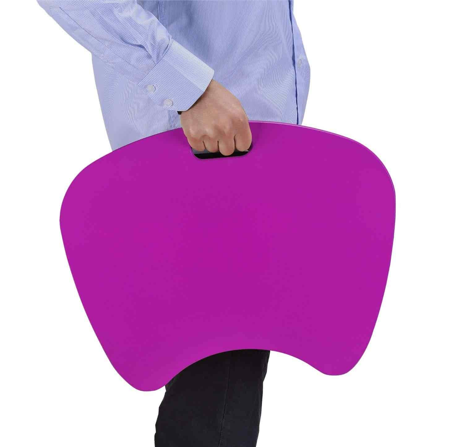 Altra Furniture Cushioned Lap Desk And Tablet Case Purple By Altra Furniture