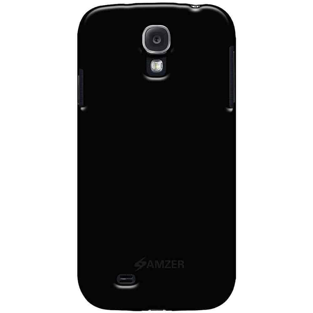 Buy Amzer 95583 Soft Gel Tpu Gloss Skin Case Black For Samsung Galaxy S4 I9500 New All Gt