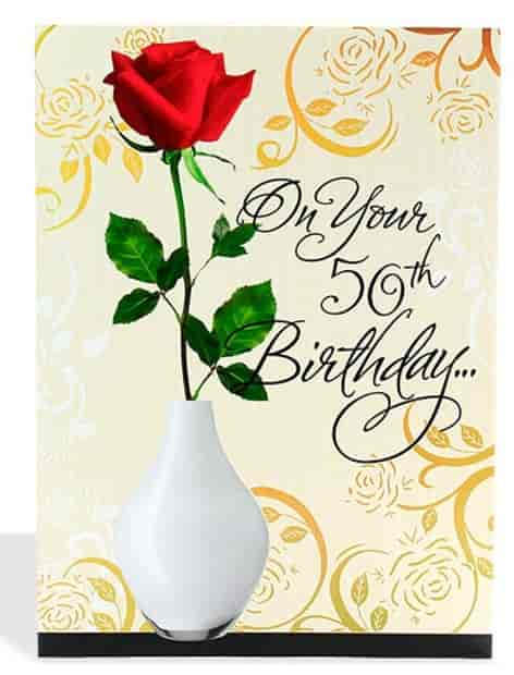 Buy Archies 50th Birthday Card A5000017 Features Price Reviews