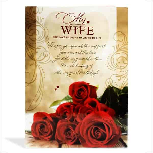 Buy archies wifes birthday greeting card bwf00172 features archies wifes birthday greeting card bwf00172 m4hsunfo