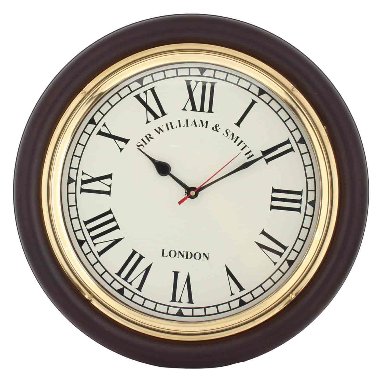 Artshai Big 41 Cm (16) Antique Look Wall Clock. Home U0026 Office Wall