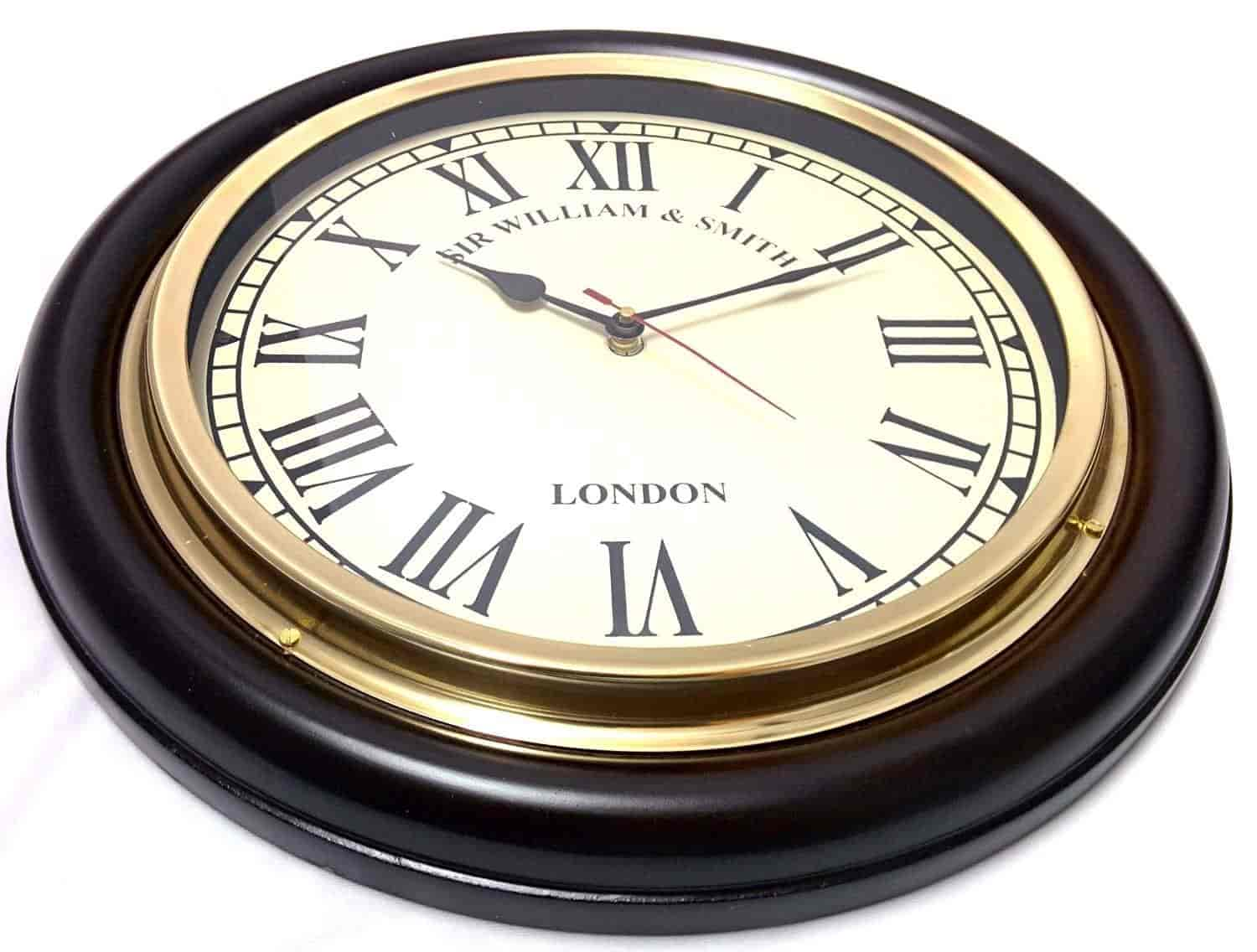office wall clocks large. Artshai Big 41 Cm (16) Antique Look Wall Clock. Home \u0026 Office Clocks Large