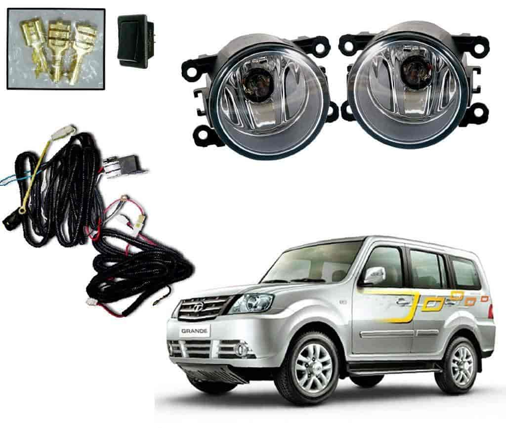 Buy Auto Pearl Premium Quality Car Fog Lamp Lights With Wiring Kit A Switch For And