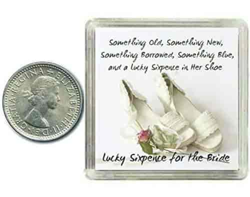 Buy Oaktree Gifts Lucky Silver Sixpence