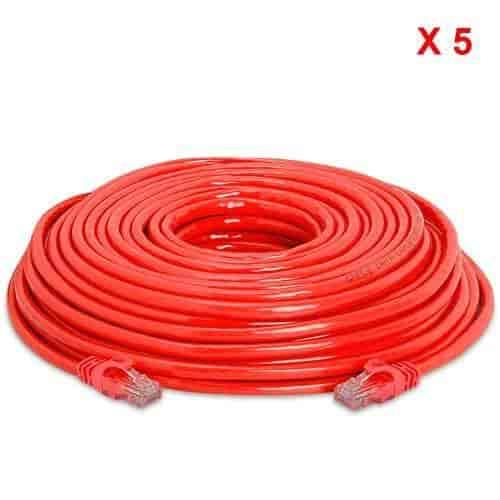 RJ45//M RJ45//M Cat5e Ethernet Network Cable Blue RiteAV 200FT 61M