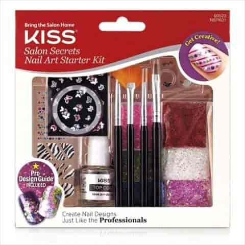 Salon Secretstm Nail Art Starter Kit By Kiss Nail Ftempo