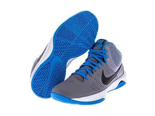Nike Men S Air Visi Pro Vi Basketball Shoe Cool Grey Black Photo Blue 7 D(M) Us