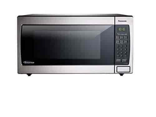 Panasonic Nn Sn766s Countertop Built In Microwave With Inverter Technology 1 6 Cu Ft Stainless