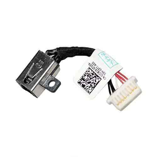 Gintai DC POWER JACK HARNESS FOR Dell Inspiron 11 3000 Series 3148 JDX1R 13-7347 13-7348 13-7352 13-7359 P57G 13-7000
