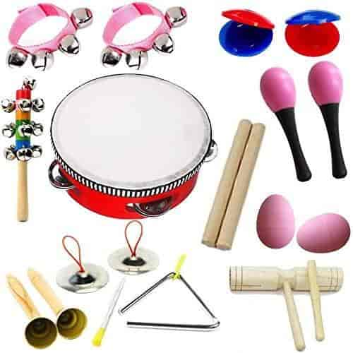 Kids Roll Drum Musical Instruments Band