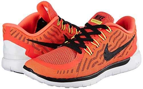 best service 8113a 21dac Nike-Mens-Free-Run-5-0-Red-and-White-Running-Shoes-10-UK-India-(45-EU)(11-US)