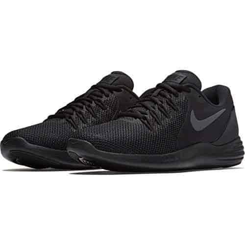 info for 84fe7 2480b Nike-Mens-Lunar-Apparent-Running-Shoe-Black-Anthracite-Dark-Grey-(UK-8)-(US-9)