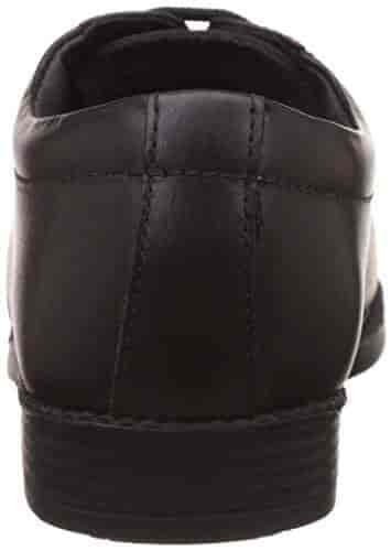Naughty Boy Black Leather Formal Shoes