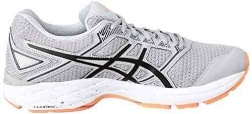 cheaper 873b2 9185d Asics-Mens-Midgrey-Black-and-Hot-Orange-Triathlon-Running-Shoes-10-UK-India-(45-EU)(11-US)