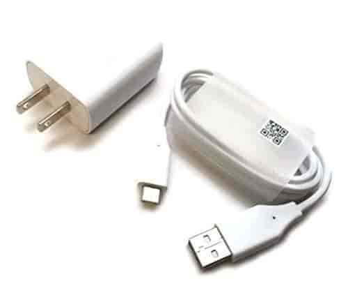 Quick Charge 3.0 N930F Wall Charger White USB Type-C Data Cable 18W.