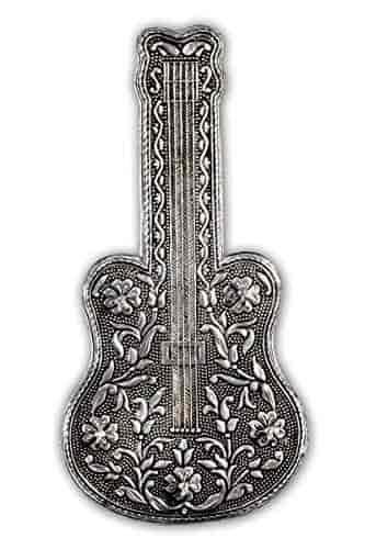 Oxidize-silver-aluminium-guitar-key-stand-key-holder-oxidize-key-stand-Gift-article-RAG-HANDICRAFTS