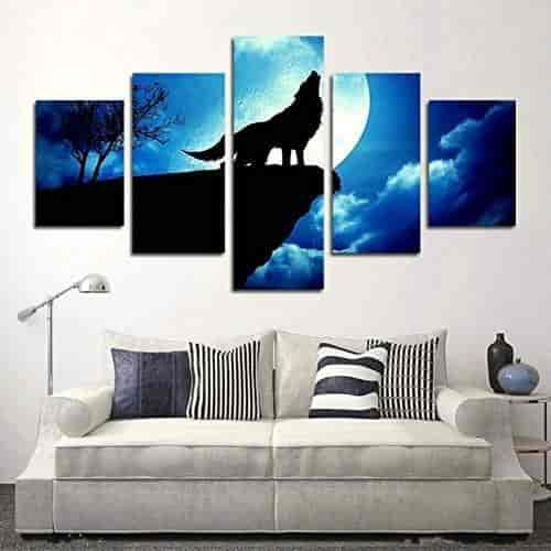 Blxecky DIY 5D Diamond Painting Cross Stitch Crafts Kit flower 4 sets of splicing paintings Home living room decoration