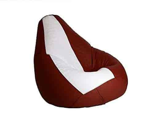 Prime Buy Ink Craft Bean Bag Xxl Size White Coffee Without Ibusinesslaw Wood Chair Design Ideas Ibusinesslaworg