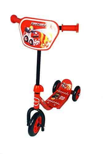 Toyhouse-Three-Wheeled-Lil-Skate-Scooter-for-Preschool-Kids-Red