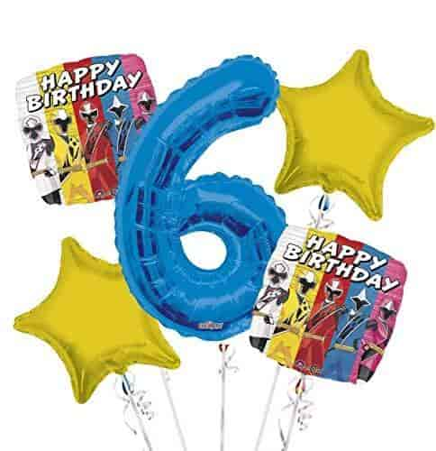 Mayflower Products Bob The Builder Construction Party Supplies 4th Birthday Balloon Bouquet Decorations