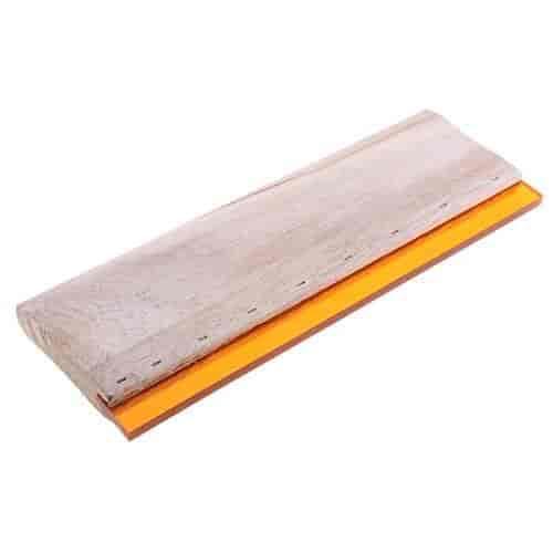 15cm-38cm Silk Screen Printing Squeegee Blade Wood Handle Scraper Tool